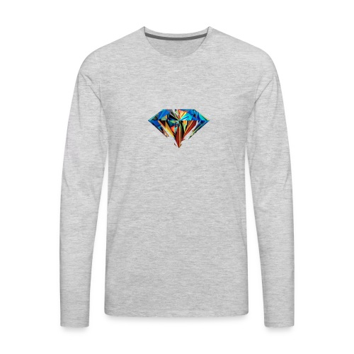 The Diamond - Men's Premium Long Sleeve T-Shirt