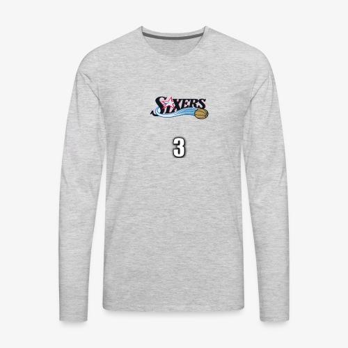 Allen Iverson - Men's Premium Long Sleeve T-Shirt