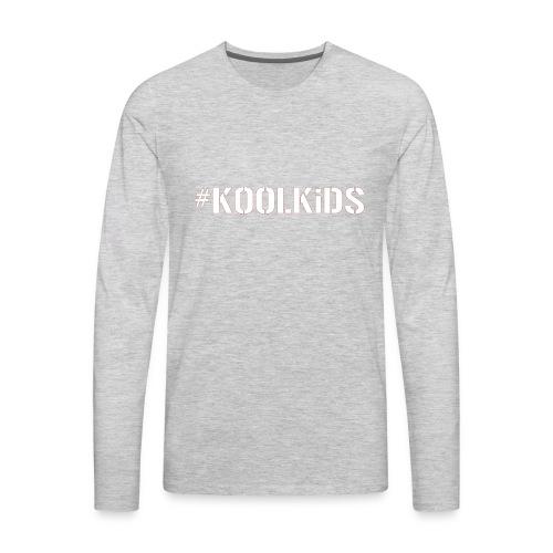 #K00LKiDS Decal - Men's Premium Long Sleeve T-Shirt