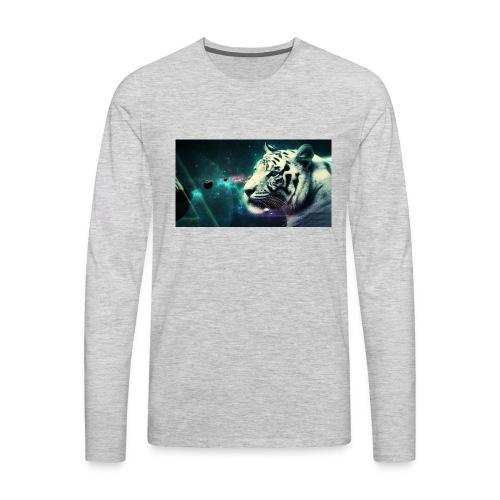 White_tiger - Men's Premium Long Sleeve T-Shirt