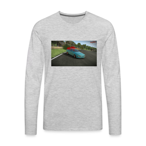 AE86 Drifting. - Men's Premium Long Sleeve T-Shirt