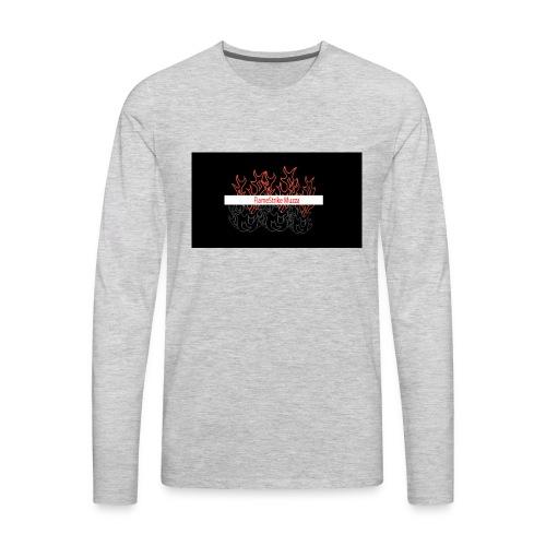 FLAMESTRIKEMuzzaSpring2016 logo - Men's Premium Long Sleeve T-Shirt