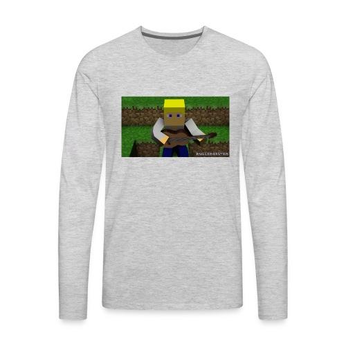 Mc rullendesten - Men's Premium Long Sleeve T-Shirt