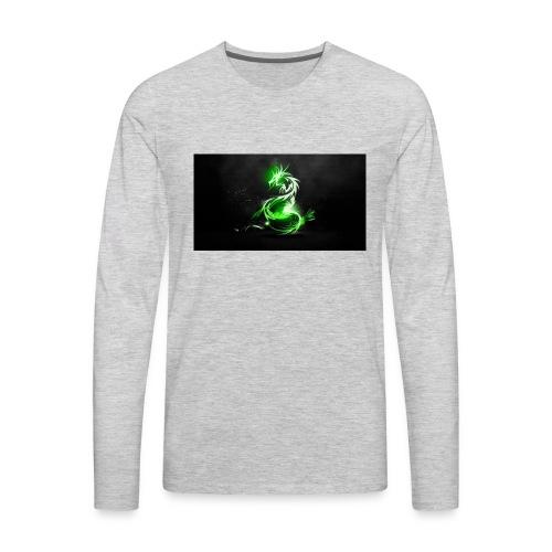 RUBIEX12 LOGO - Men's Premium Long Sleeve T-Shirt