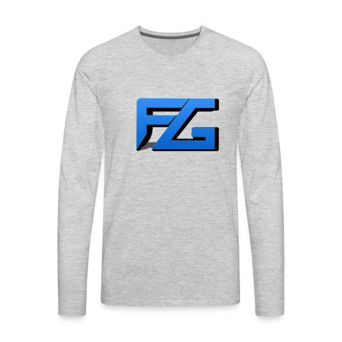 Freeze Gaming Logo - Men's Premium Long Sleeve T-Shirt