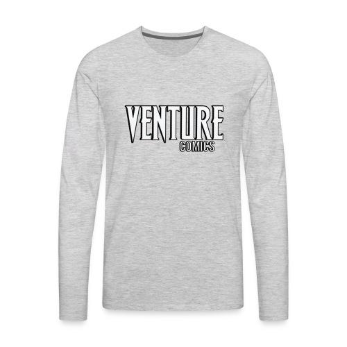 Venture Comics Logo - Men's Premium Long Sleeve T-Shirt