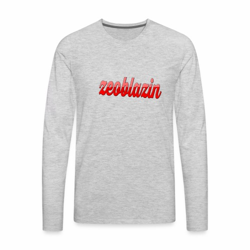 ZeoBrand line feb-june line - Men's Premium Long Sleeve T-Shirt