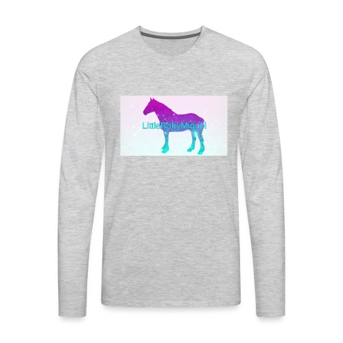 LittleBabyMiguel Products - Men's Premium Long Sleeve T-Shirt