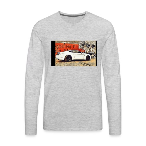 S550mustangGT - Men's Premium Long Sleeve T-Shirt
