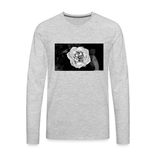 White Rose - Men's Premium Long Sleeve T-Shirt