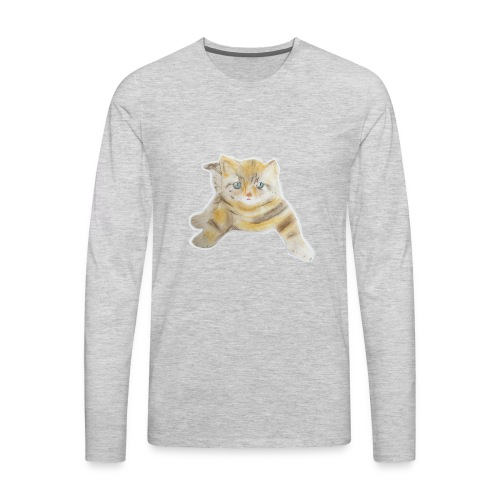 sad boy - Men's Premium Long Sleeve T-Shirt