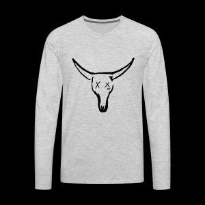 BASE Dead Bull 222 TAT - Men's Premium Long Sleeve T-Shirt