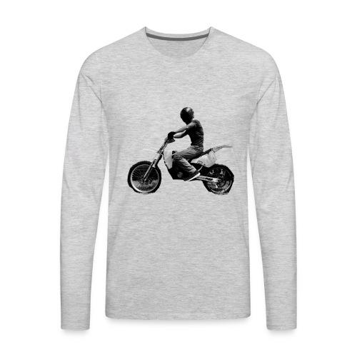 Impale Logo - Men's Premium Long Sleeve T-Shirt