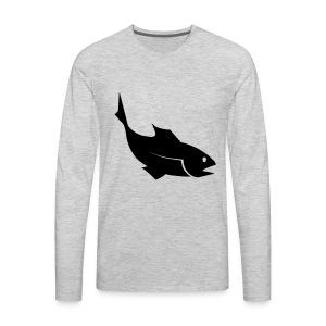 Fish - Men's Premium Long Sleeve T-Shirt