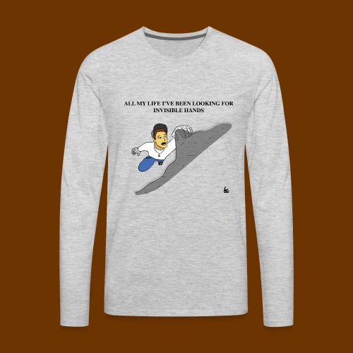 Invisible Hands - Men's Premium Long Sleeve T-Shirt