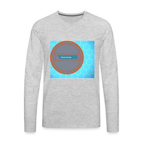 Azaan savage merch - Men's Premium Long Sleeve T-Shirt