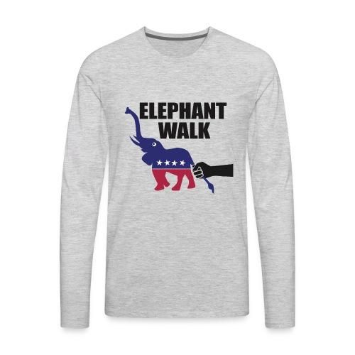 Elephant Walk - Men's Premium Long Sleeve T-Shirt