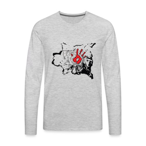 Buffalo Robe story teller - Men's Premium Long Sleeve T-Shirt