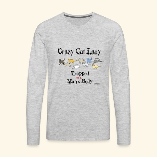 Trapped! - Men's Premium Long Sleeve T-Shirt