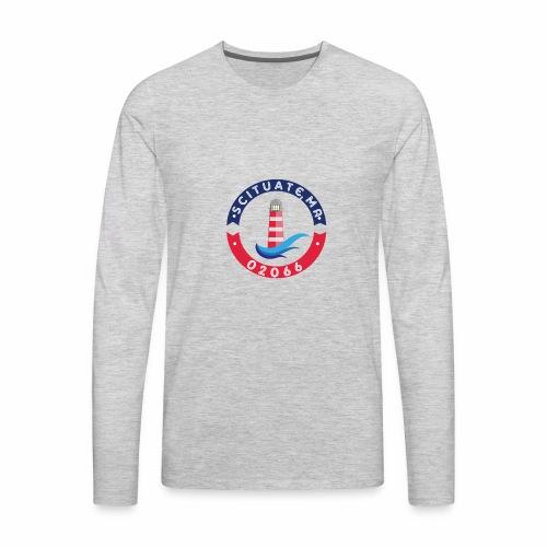 Scituate MA 02066 - Men's Premium Long Sleeve T-Shirt
