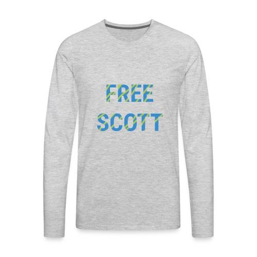 Free Scott - Men's Premium Long Sleeve T-Shirt