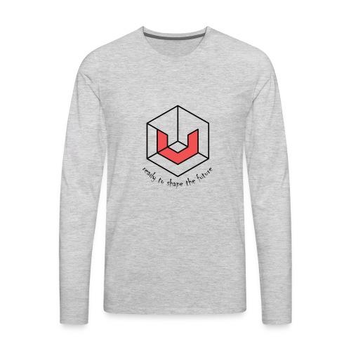Universa UTN Crypto - Men's Premium Long Sleeve T-Shirt