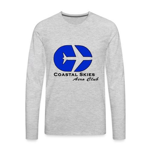 CSAC Logo - Men's Premium Long Sleeve T-Shirt