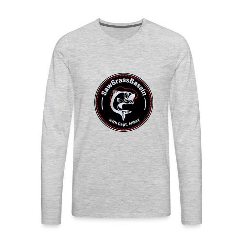 SawGrassBassin SWAG - Men's Premium Long Sleeve T-Shirt
