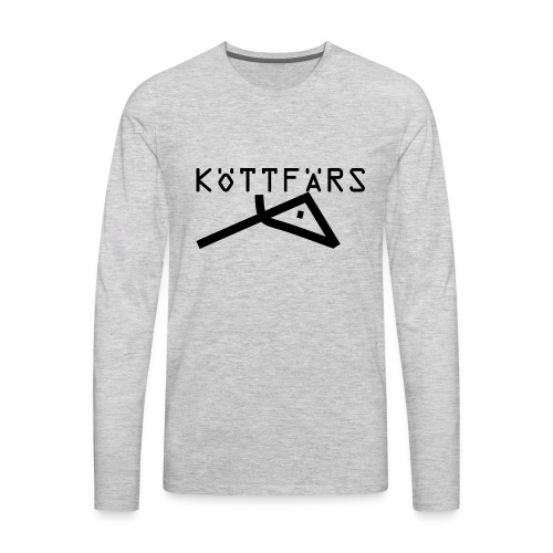Köttfärs Black - Men's Premium Long Sleeve T-Shirt