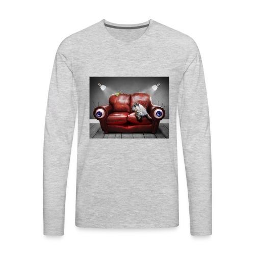 sofá - Men's Premium Long Sleeve T-Shirt
