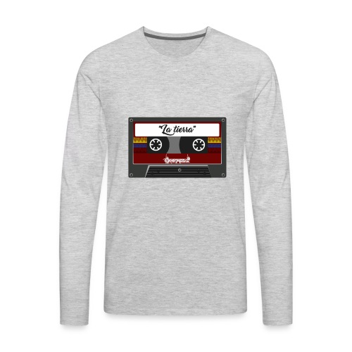 cassette la tierra - Men's Premium Long Sleeve T-Shirt