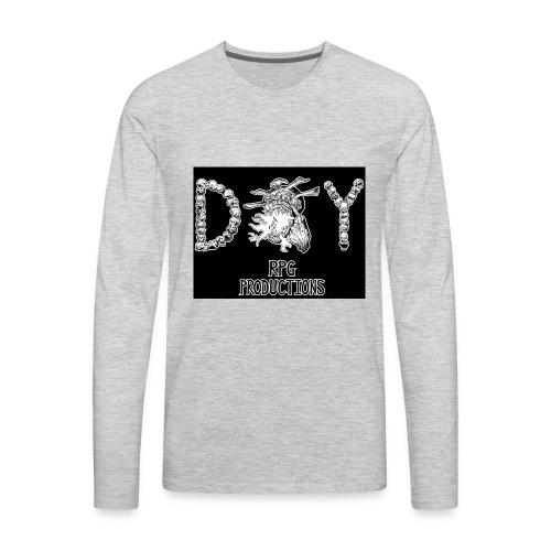 DIY RPG Productions Demon Metal - Men's Premium Long Sleeve T-Shirt