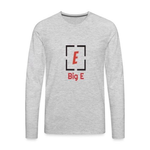 Big E Basic - Men's Premium Long Sleeve T-Shirt