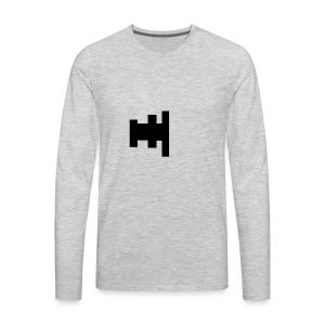 Blate logo - Men's Premium Long Sleeve T-Shirt