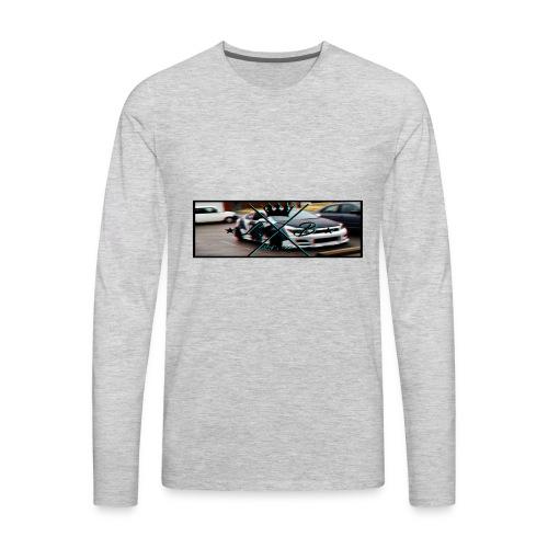 Slap Sticker glitch - Men's Premium Long Sleeve T-Shirt