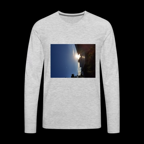we dont sleep alone - Men's Premium Long Sleeve T-Shirt