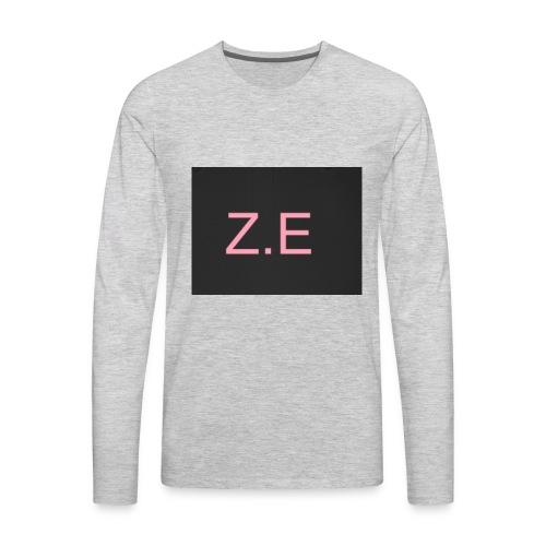Zac Evans merch - Men's Premium Long Sleeve T-Shirt