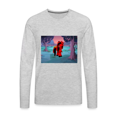 midnight warrior - Men's Premium Long Sleeve T-Shirt