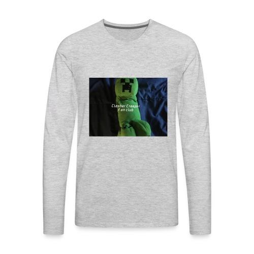 Clasher Creeper Fan Club - Men's Premium Long Sleeve T-Shirt