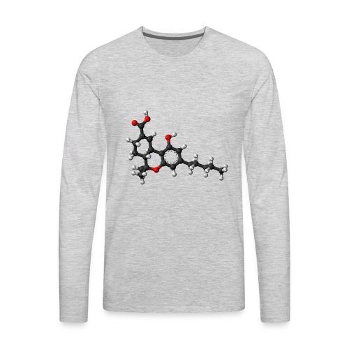 THC 3D balls - Men's Premium Long Sleeve T-Shirt