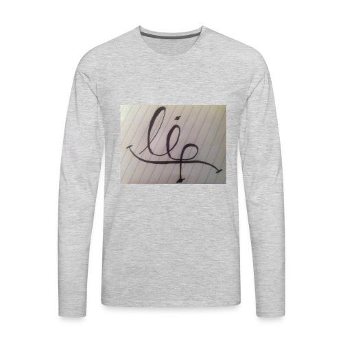 lip - Men's Premium Long Sleeve T-Shirt