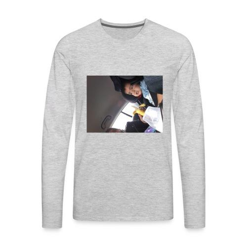 Nihath vlogs - Men's Premium Long Sleeve T-Shirt
