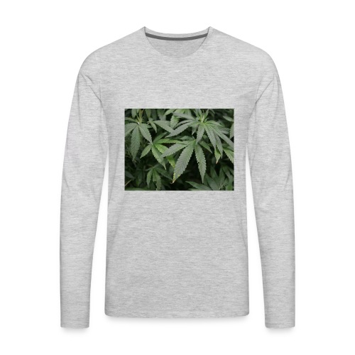 cannabis - Men's Premium Long Sleeve T-Shirt