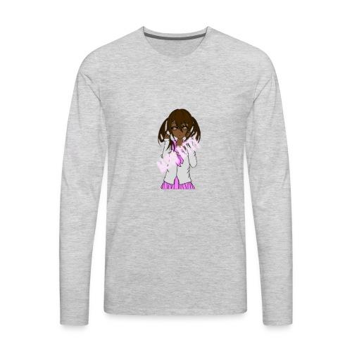 Alien Kitty's Attire - Men's Premium Long Sleeve T-Shirt