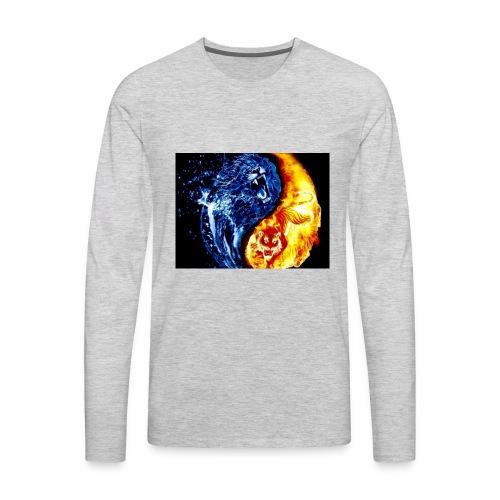Yin & Yang - Men's Premium Long Sleeve T-Shirt