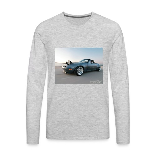 modp 1204 06 1990 mazda mx5 miata full view - Men's Premium Long Sleeve T-Shirt