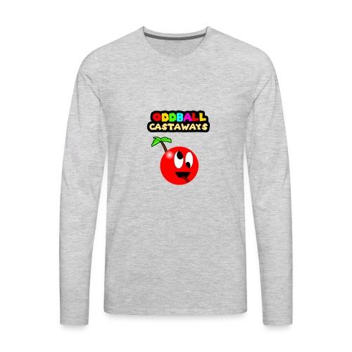 Oddball Mascot and Logo - Men's Premium Long Sleeve T-Shirt