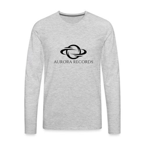 Aurora Records Logo - Men's Premium Long Sleeve T-Shirt
