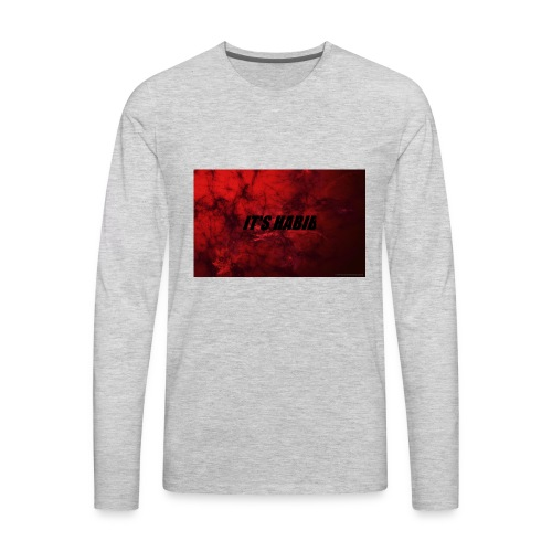 IT'S HABIB MERCH - Men's Premium Long Sleeve T-Shirt