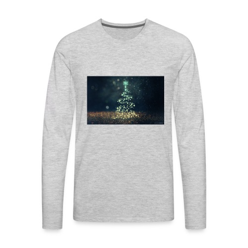 Christmas Tree - Men's Premium Long Sleeve T-Shirt